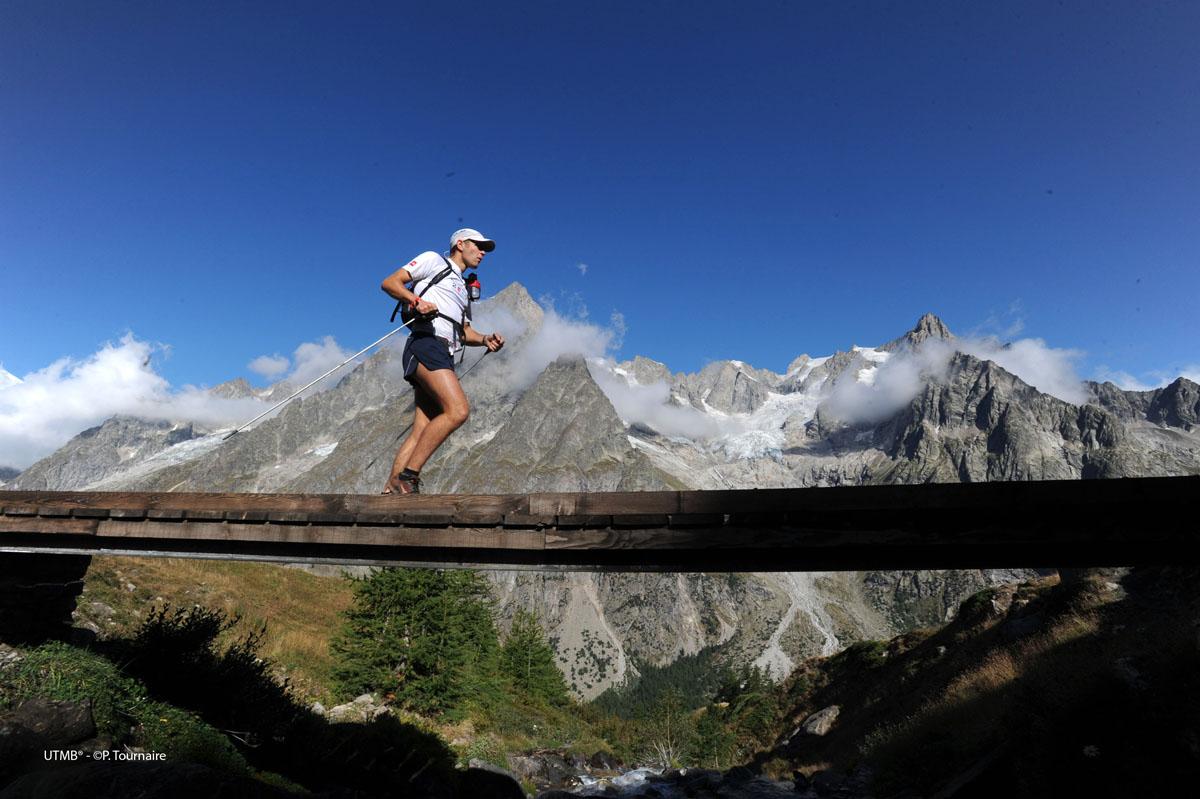 course a pied en montagne