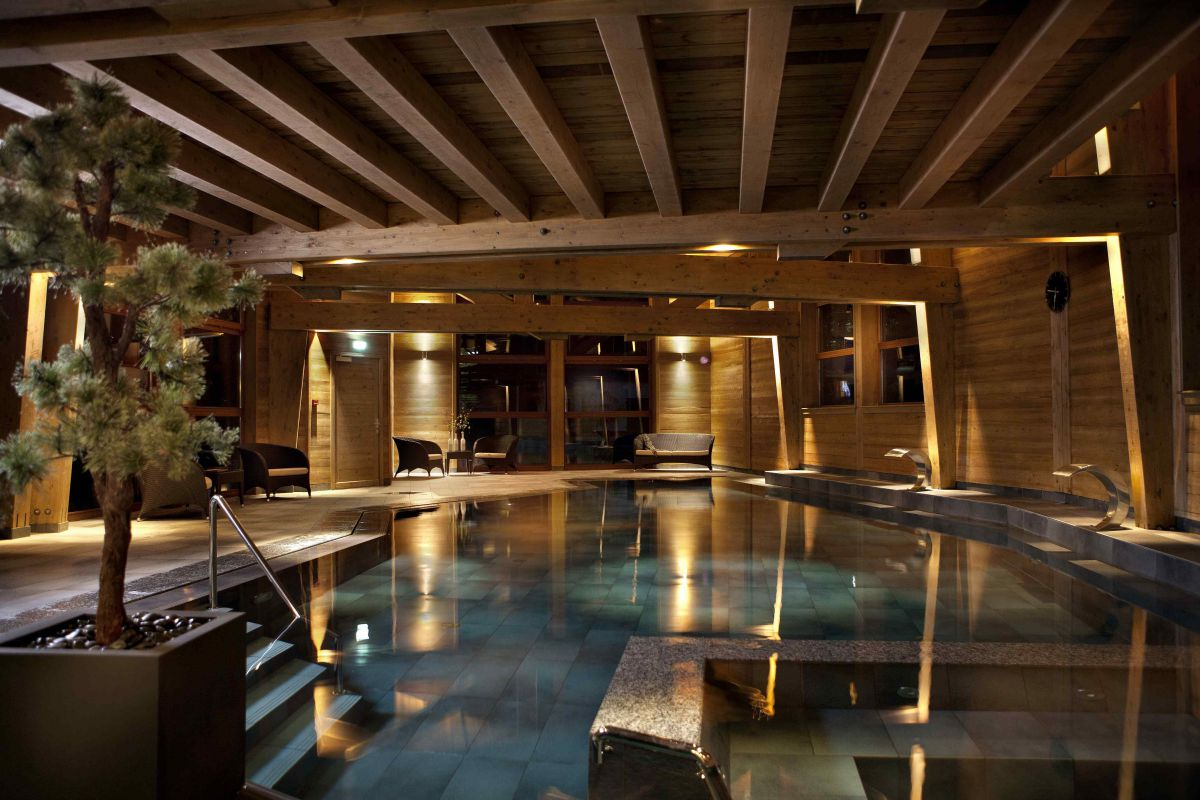 10 spas d 39 hotels de montagne france montagnes site officiel des stations de ski en france for Cuisine style montagnard
