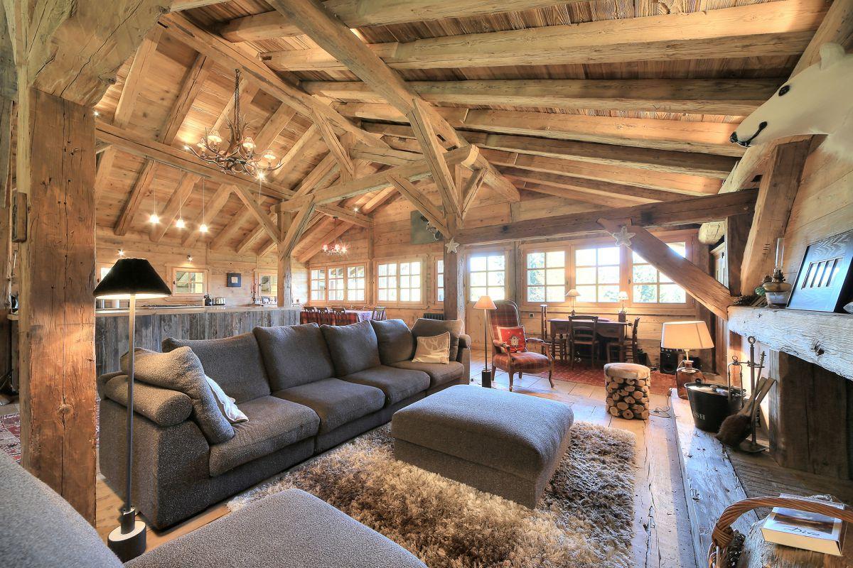 15 chalets de r ve pour un no l magique france montagnes. Black Bedroom Furniture Sets. Home Design Ideas