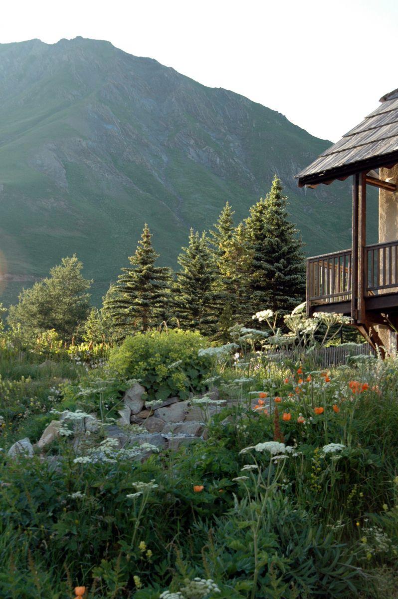 Un jardin potager en montagne france montagnes site for Jardin 2 montagnes