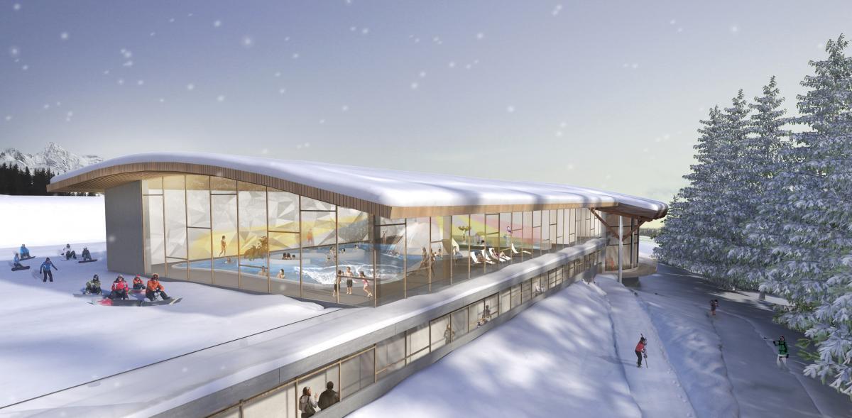 Nouveau en station piscines et centres aquatiques for Piscine arc 1800