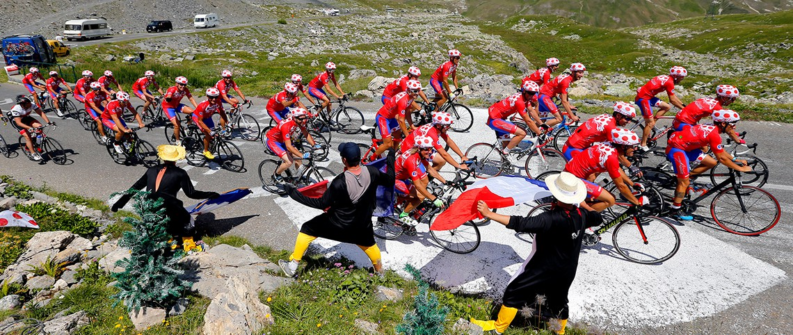 France Montagnes en ouverture du Tour de France 2018 !