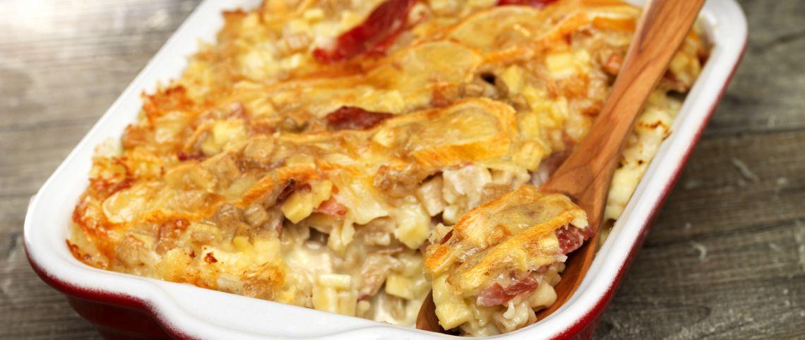 Recette de la vraie croziflette france montagnes - Recette cuisine traditionnelle francaise ...