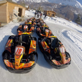 Karting sur glace - Ice Racing
