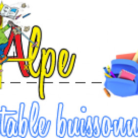 Alpe Cartable Buissonnier
