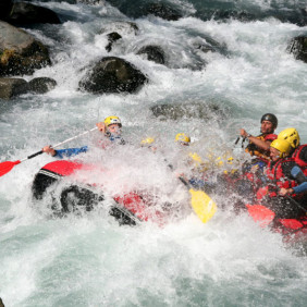Rafting descente junior