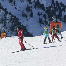 Cours collectifs adultes ski